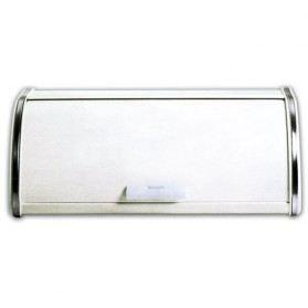 Boîte à pain en métal avec couvercle - blanc