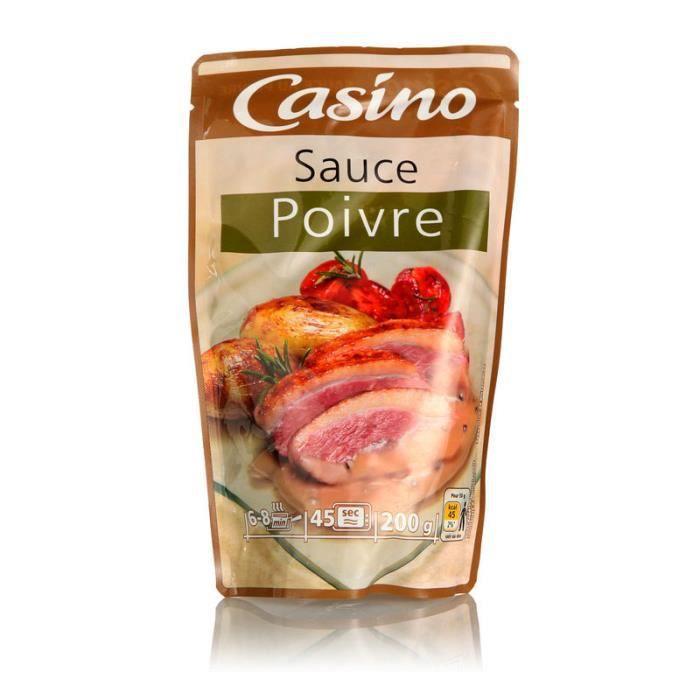 Sauce poivre - 200 ml