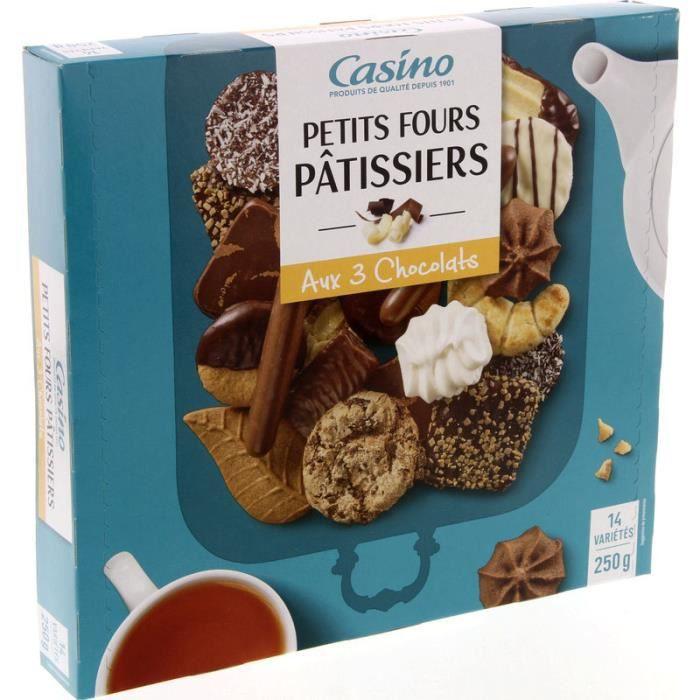 Biscuits Assortiment petits fours pâtissiers - 14 variétés - 250 g
