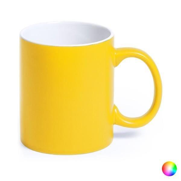 Tasse en Céramique (350 ml) Bicolore 145291 - couleur:Noir