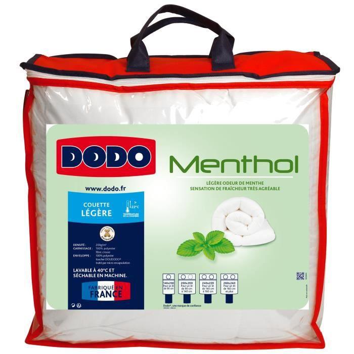 DODO Couette Légère MENTHOL 200x200cm