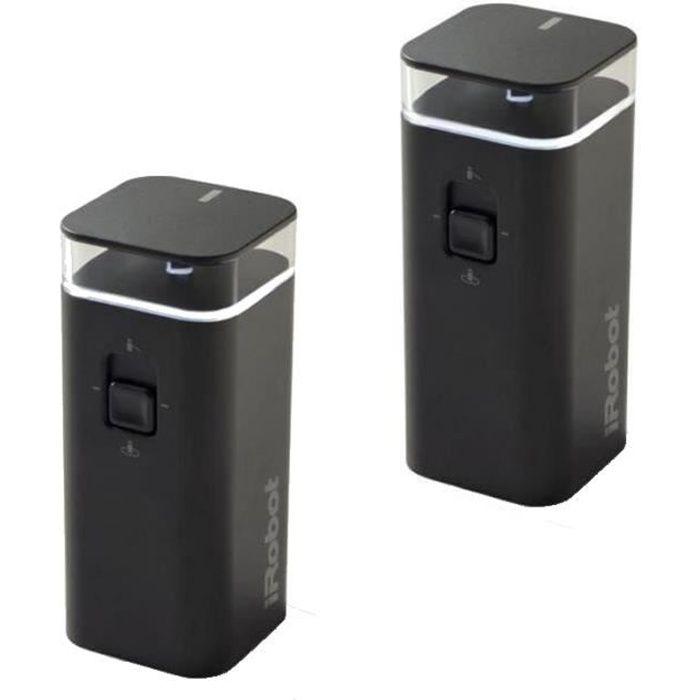Murs virtuels (par 2) pour aspirateur Irobot Roomba 500-600-700-800-900
