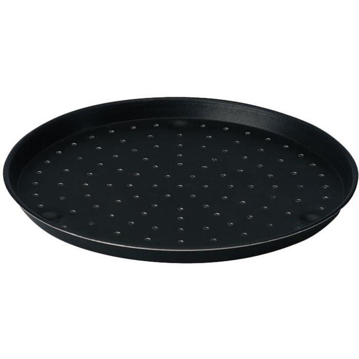 Moule perforé à pizza D : 32 cm - aluminium