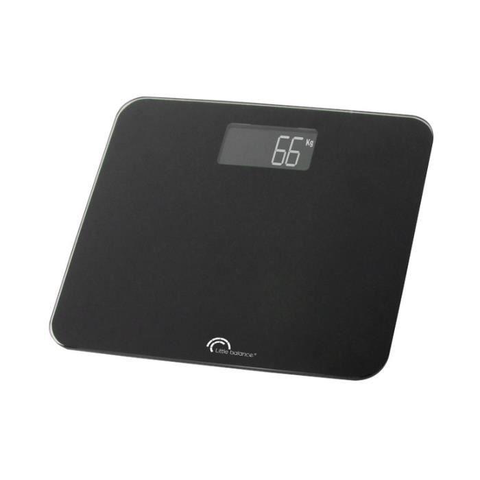 Little balance - pèse-personne électronique 200kg-100g noir - 8132