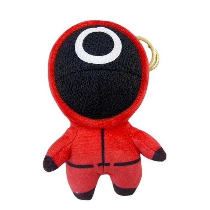 Poupee Squid Game 1 Mini Figurine Mignonne Dod Multicolor