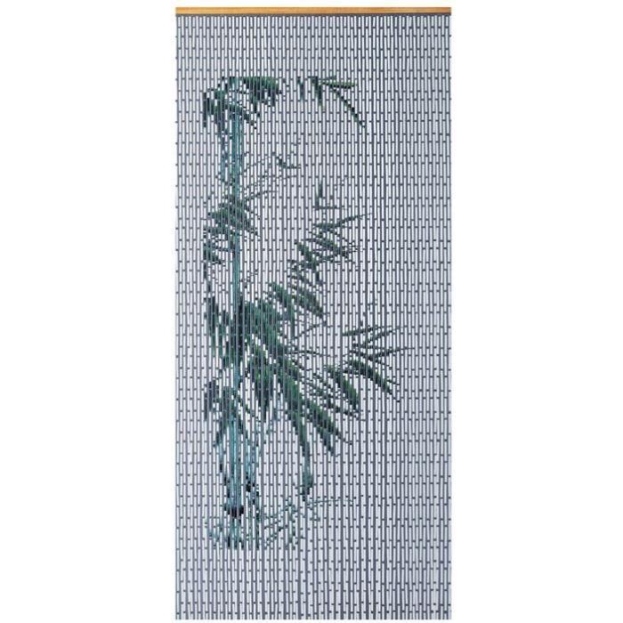 Rideau de porte Bambou bambouplast - 90x200 cm