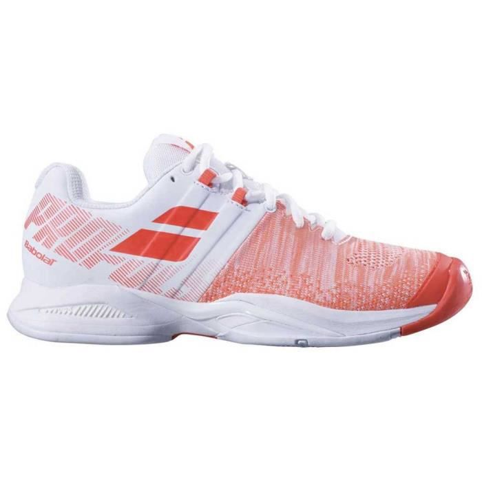 chaussures femme baskets babolat propulse blast all court. très bon maintien du pied grâce à 2 sangles puissantes dédiées au maintie