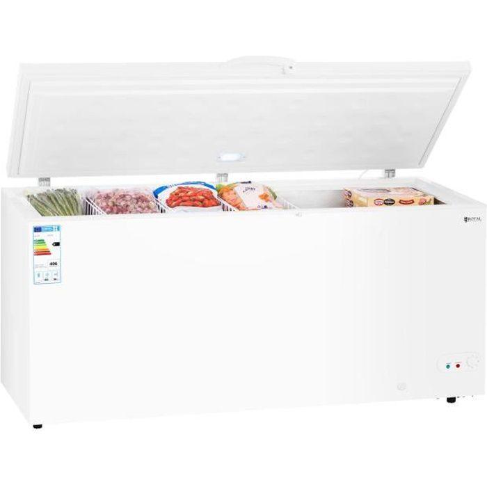 Congélateur Coffre Réfrigérateur Bahut Freezer Classe A+ 560Litres -12 -28dc LED