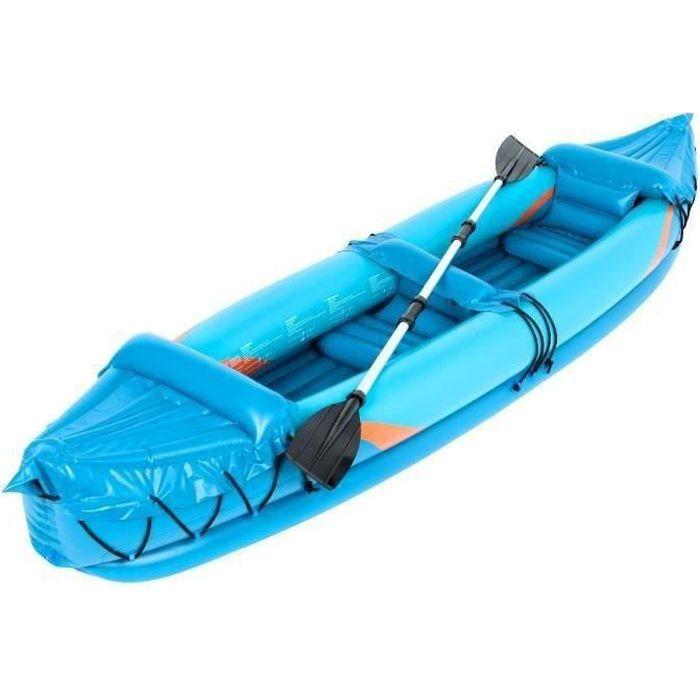 Kayak gonflable SURPASS - 325 cm - 2 places - 1 pagaie alu double et pliable