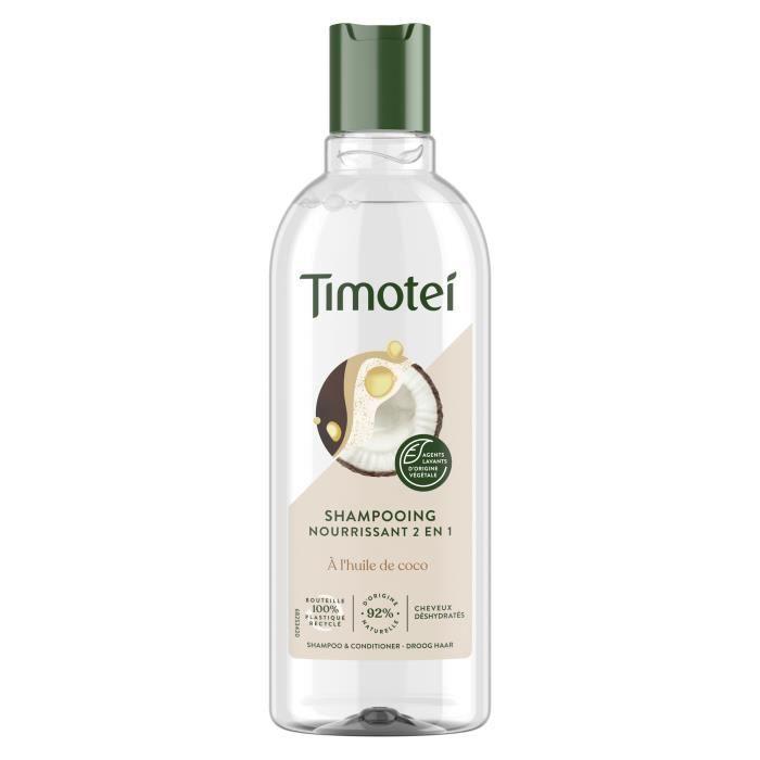 TIMOTEI Après Shampooing Nutrition et légèreté - 300ml