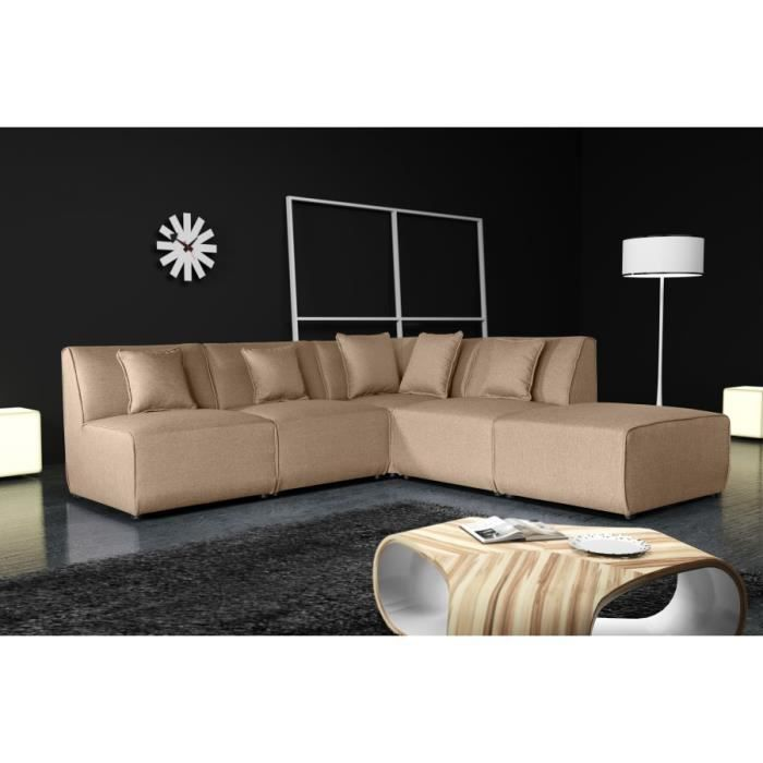 canap tobi uni 11a1p savana brun 25 sofa divan achat. Black Bedroom Furniture Sets. Home Design Ideas