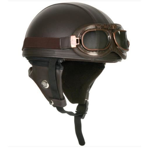 casque moto vintage achat vente casque moto scooter casque moto vintage cdiscount. Black Bedroom Furniture Sets. Home Design Ideas