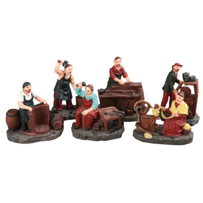 figurine de noel achat vente figurine de noel pas cher cdiscount. Black Bedroom Furniture Sets. Home Design Ideas
