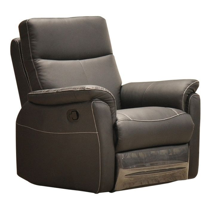 Fauteuil relaxation 1 place switsofa colbert taupe achat vente fauteuil f - Le fauteuil de colbert ...