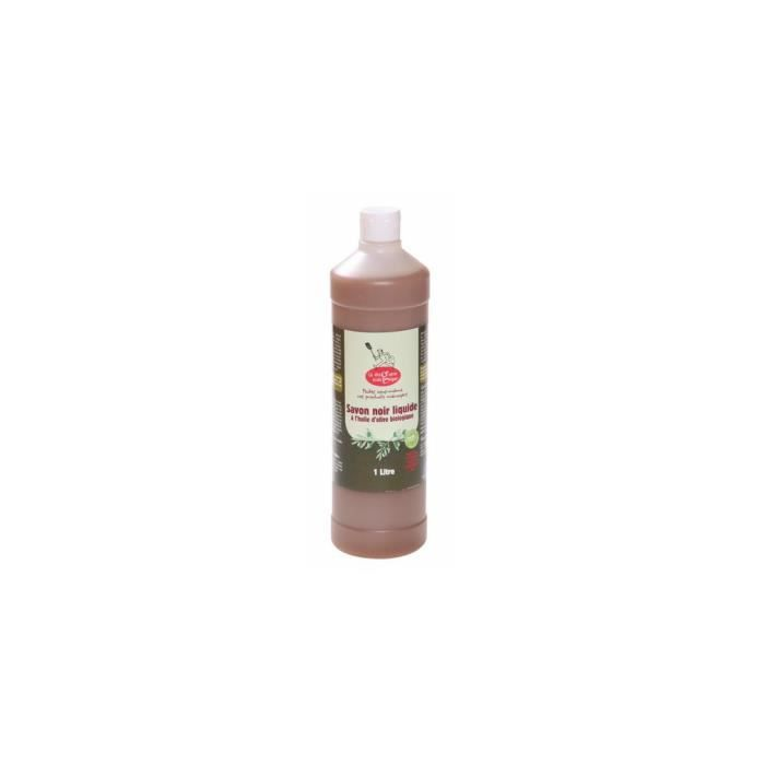 SAVON - SYNDETS Savon noir liquide olive bio 1 litre
