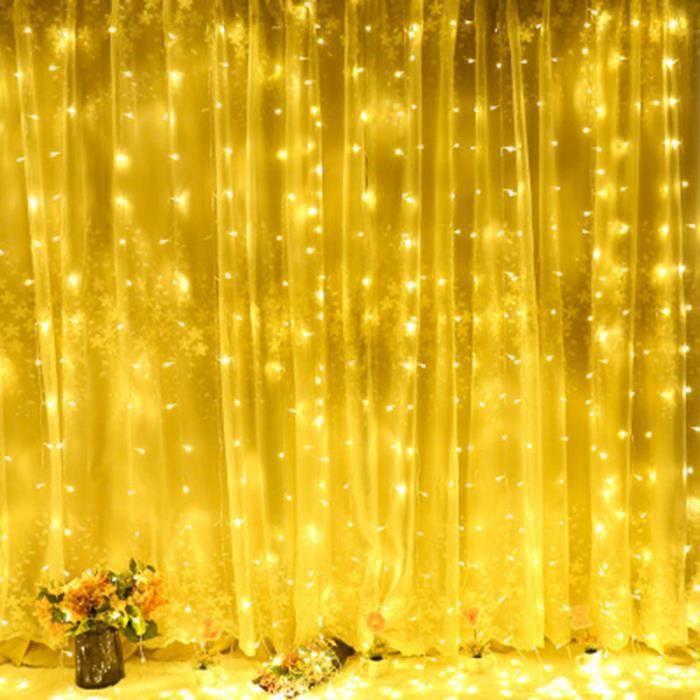 500 DEL Blanc Froid chaîne fée lumières mariage fête jardin extérieur décoration maison