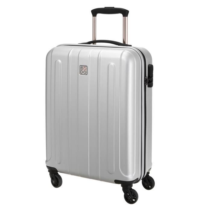 modo by roncato valise cabine trolley rigide polycarbonate et abs 4 roues 55 cm supernova silver. Black Bedroom Furniture Sets. Home Design Ideas