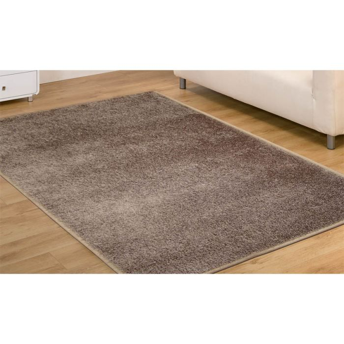 ad tortora 18 tapis shaggy cm 200 rond achat vente tapis cdiscount. Black Bedroom Furniture Sets. Home Design Ideas