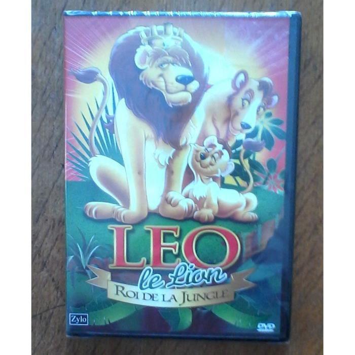 Dvd Léo Le Lion Roi De La Jungle