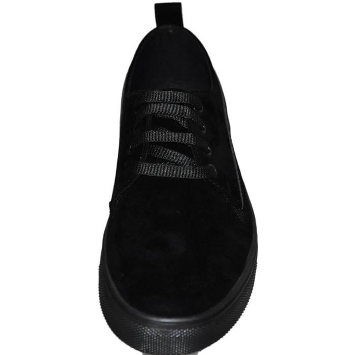 chaussures sneakers homme Noir