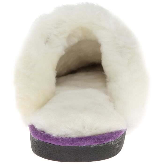 441169 Scuff Sheepskin Slipper HA6NW Taille-36