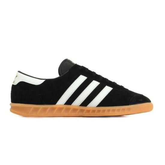 Baskets adidas Originals Hamburg Noir, blanc - Cdiscount Chaussures