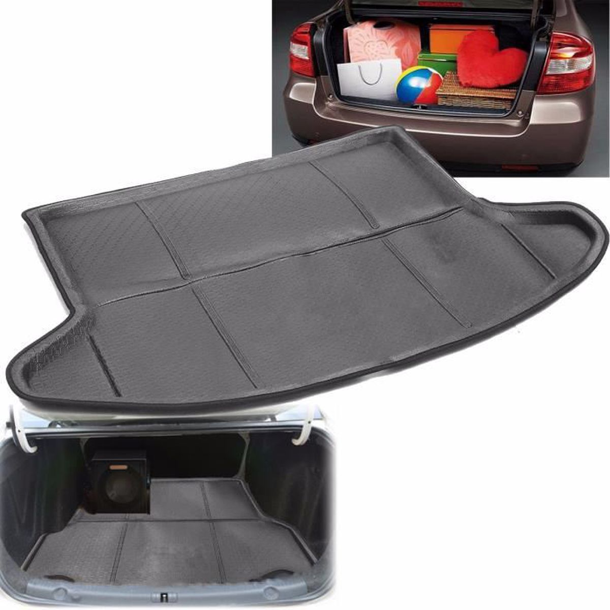 etanche sol mat tapis arri re coffre voiture cover pour mazda cx 5 2013 2016 achat vente. Black Bedroom Furniture Sets. Home Design Ideas
