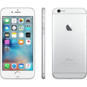SMARTPHONE RECOND. IPhone 6 64 Go Argent Occasion - Comme Neuf