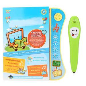 LIVRE INTERACTIF ENFANT Livre d'apprentissage électronique en anglais avec