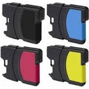 CARTOUCHE IMPRIMANTE Pack de 4 cartouches encre compatibles Serie LC980