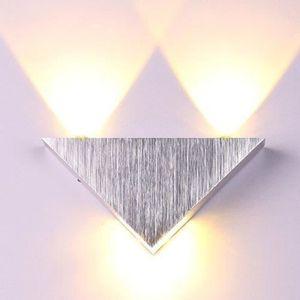 APPLIQUE  Applique murale intérieur LED - Triangle - En alum