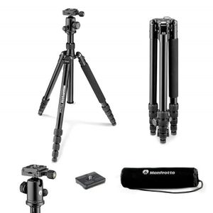 Manfrotto MKELEB5RD-BH Tr/épied Taille Grand pour Camera Gouge