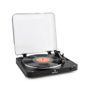 PLATINE VINYLE auna TT-30 BT - Tourne-disque platine vinyle 33 et