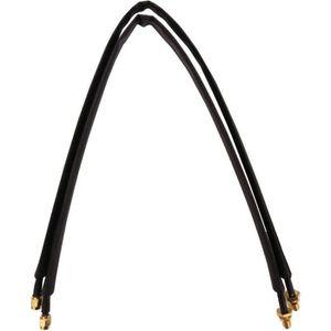 CÂBLE RÉSEAU  Adaptateur câble passe fenêtre 2 x 50cm noir SMA f