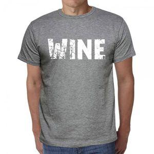 T-SHIRT wine tshirt homme tshirt avec motif