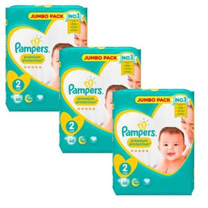 COUCHE Giga Pack 204 Couches Pampers New Baby - Premium P