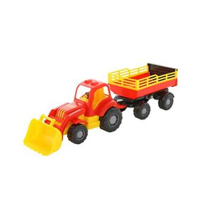 TIRELIRE Polesie 45034 Puissant jouet tracteur-chargeur ave