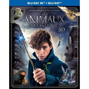 BLU-RAY FILM Les Animaux Fantastiques Bluray 3D