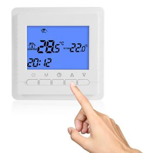 THERMOSTAT D'AMBIANCE XCSOURCE Thermostat Electronique Programmable Chau