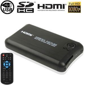 LECTEUR MULTIMÉDIA Lecteur Multimédia HD Télécommande HDMI Support Ca