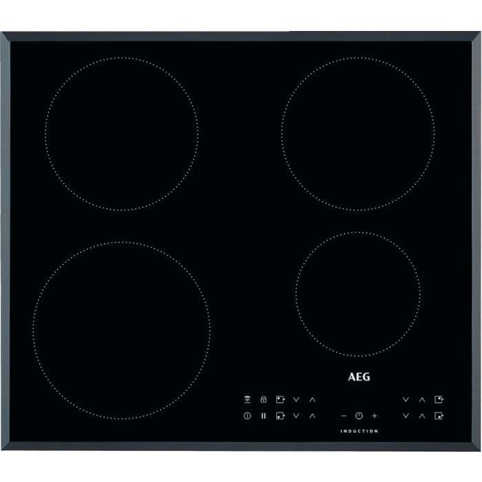 AEG IKB64301FB, Intégré, Plaque avec zone à induction, Noir, 1400 W, Rond, 14,5 cm