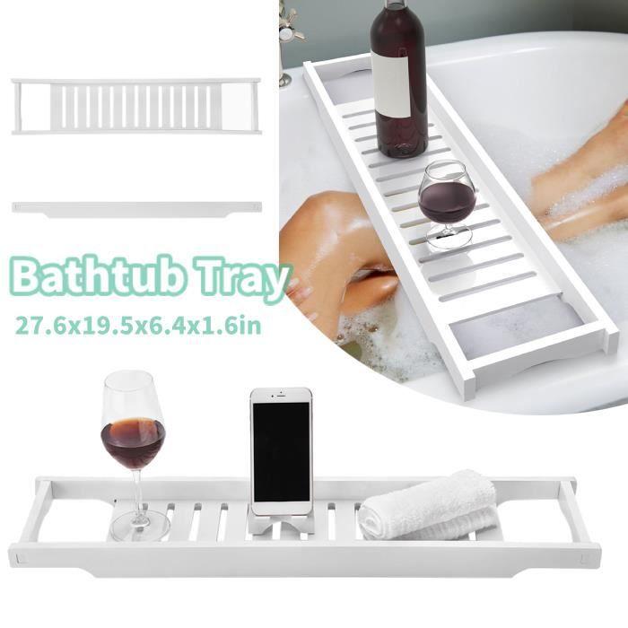 Pont de baignoire plateau tablette de bain salle de bain planche Plateau de Baignoire , Accessoires de salle de bain HB0043