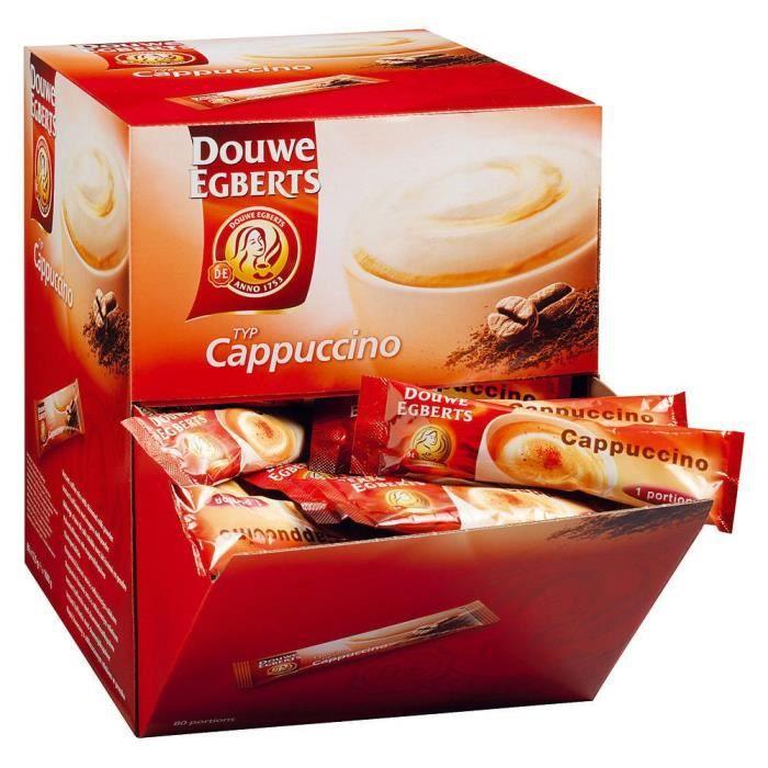 boite de 80 sticks Café Cappuccino DOUWE EGBERTS