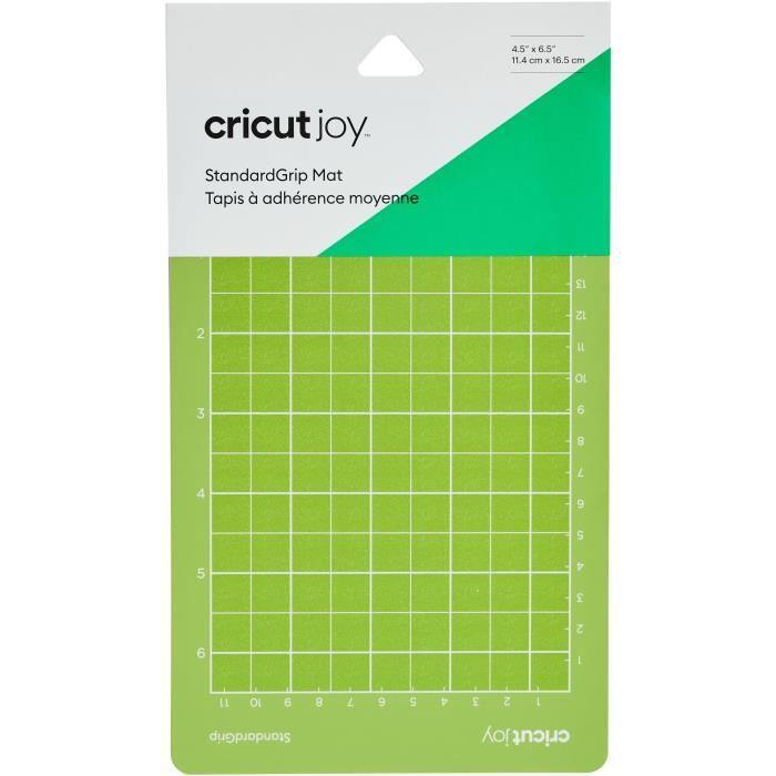 Cricut - Tapis Petit Adh Standard Joy 6 - 11,4 x 16,5 cm