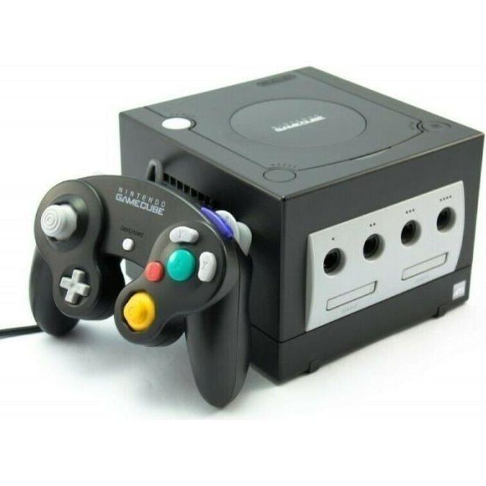 Console Nintendo Gamecube Noire + 1 manette + 1 carte mémoire