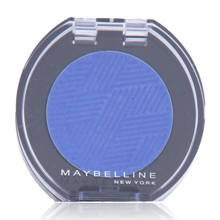 Maybelline Color Show Mono 10 Soho Blue, Bleu, Soho Blue, 1 couleurs, Satin, 49 mm, 50 mm