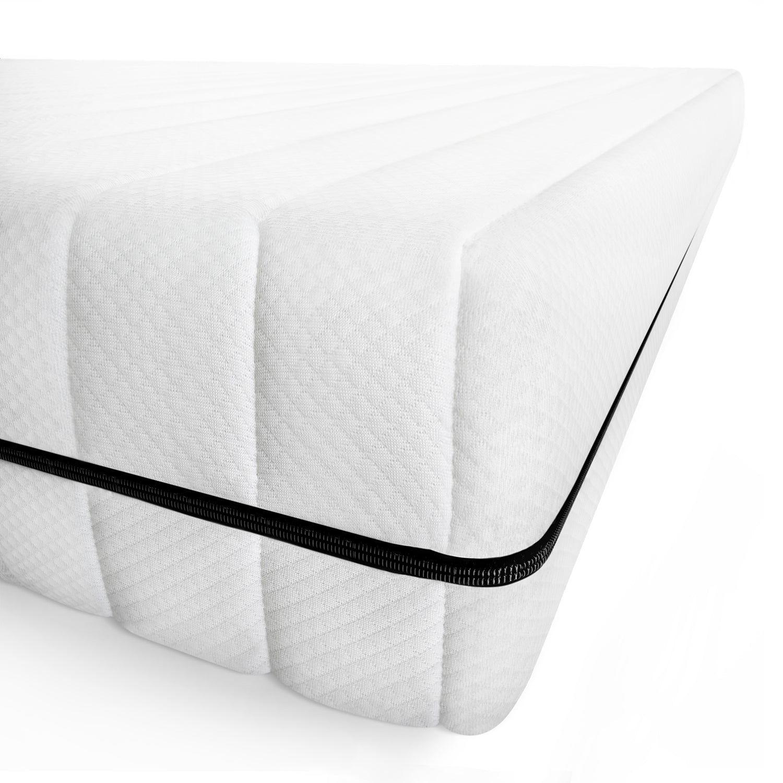 Matelas 90x200 matelas en mousse ferme housse amovible lavable et hypoallergénique matelas pratique, épaisseur 15 cm