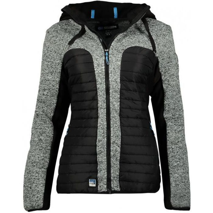 Veste Geographical Norway modele taqueuse lady 054 femme - Noir