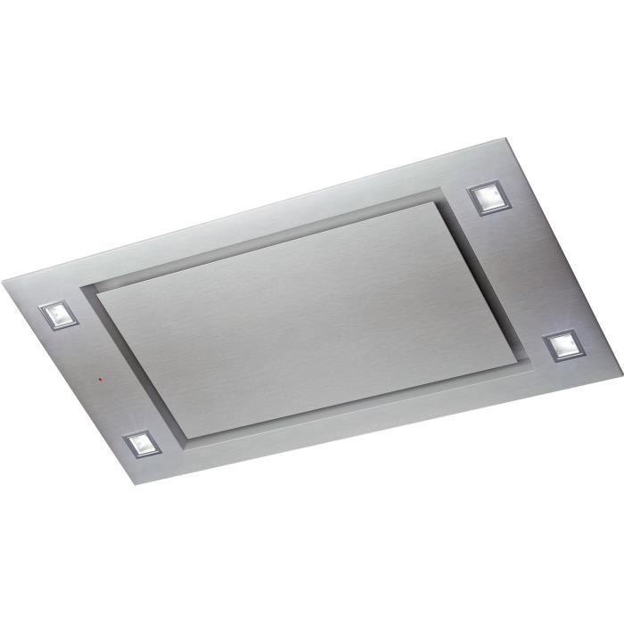 WHIRLPOOL - AKR1050IX/1 - hotte plafond 100cm - inox