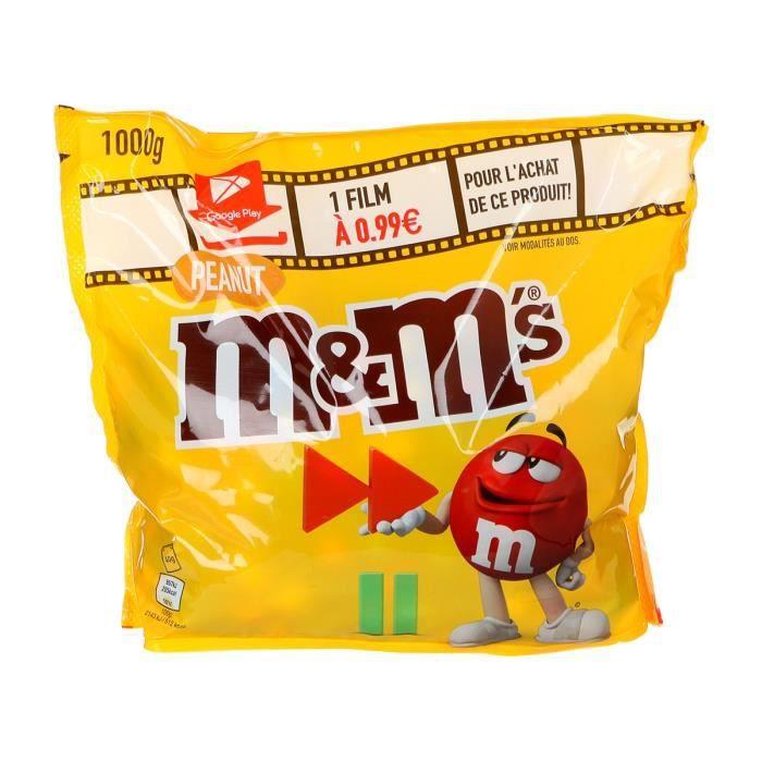 MARS WRIGLEY CONFECTIONERY FRANCE Sachet de Bonbons à la cacahuète et au chocolat M&M's - 1 kg